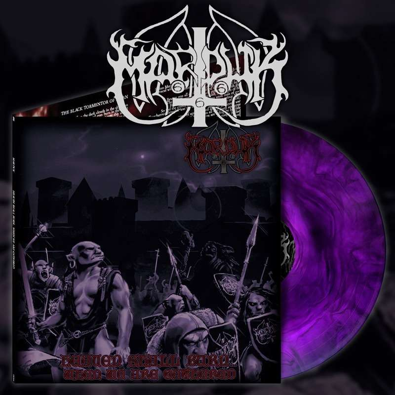 MARDUK Heaven Shall Burn When we are Gathered. Purple Galaxy Vinyl