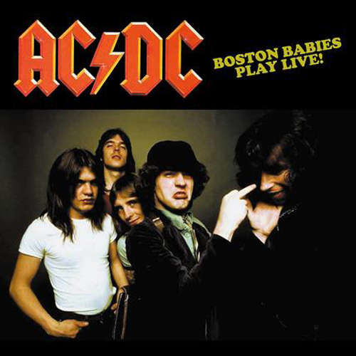 AC/DC Boston Babies Play Live! (lp)
