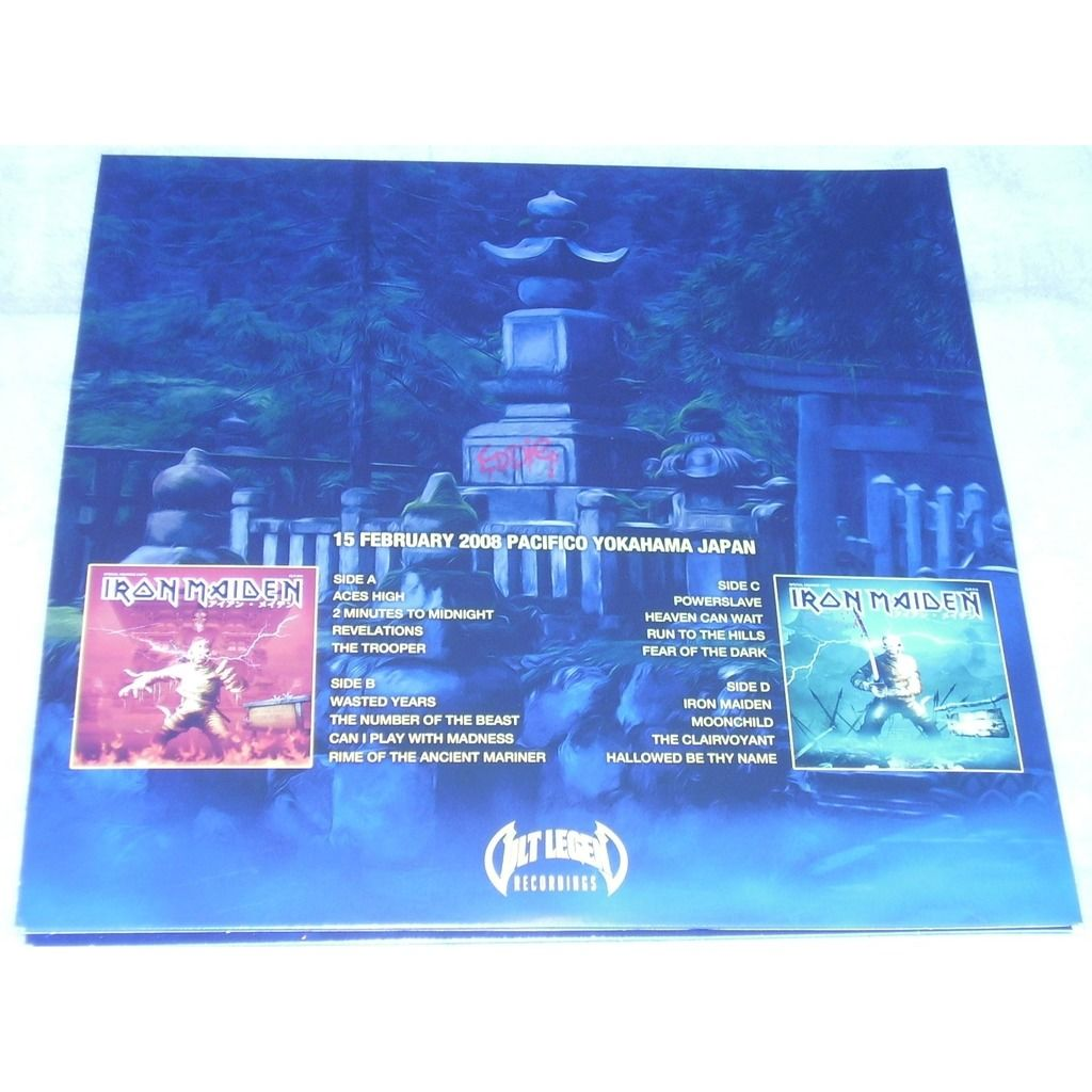Iron Maiden Take Your Mummy On The Road (2xlp) Ltd Edit Gatefold Sleeve With Colour Vinyl -E.U