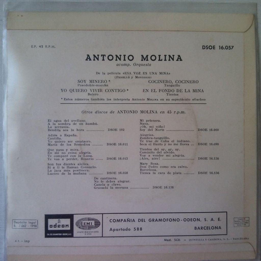 Antonio Molina Así Canta...