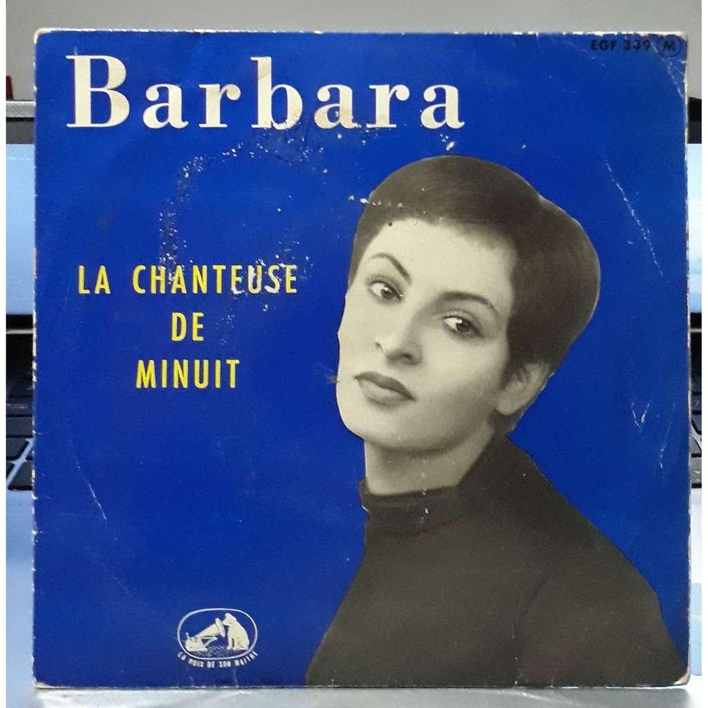 barbara la chanteuse de minuit