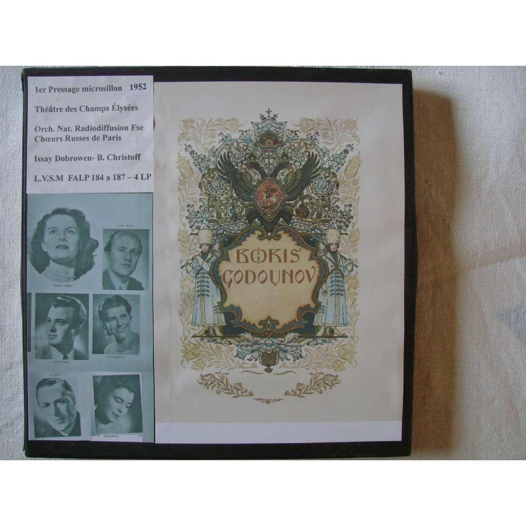 Issay Dobrowen - Boris Christoff - Choeurs Russes Boris Godounov - Poeme de Pouchkine- musique de Moussorgsky - version Rimsky -Korsakov