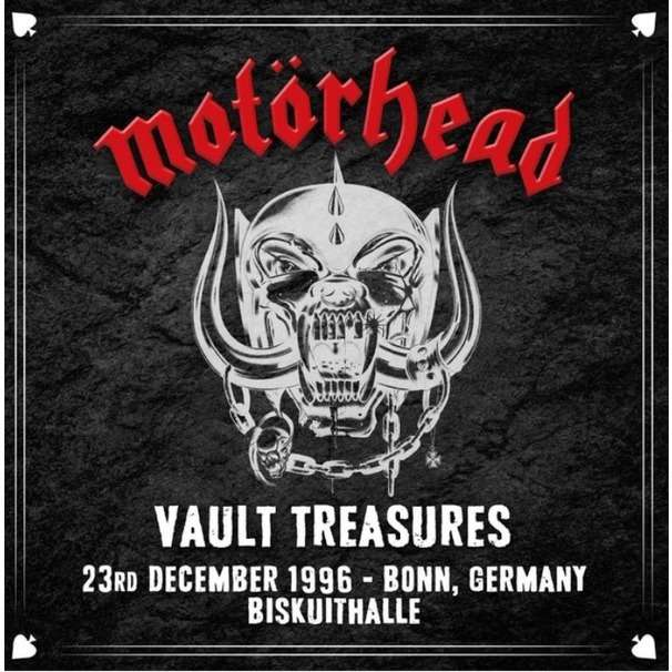 Motörhead Vault Treasures - 23rd December 1996 - Bonn,Germany Biskuithalle (2xlp) Ltd Edit Coloured Vinyl -E.U