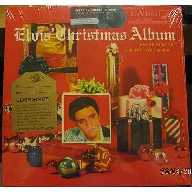 elvis presley 001 LP germany 180 grammes w/gatefold picture sleeve ELVIS CHRISTMAS ALBUM