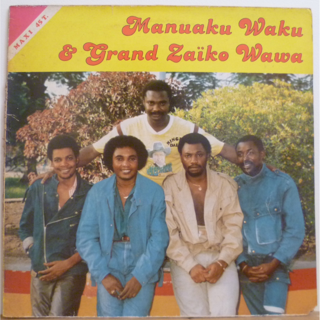 MANUAKU WAKU & GRAND ZAIKO WAWA Gina 85 / De base na ngai