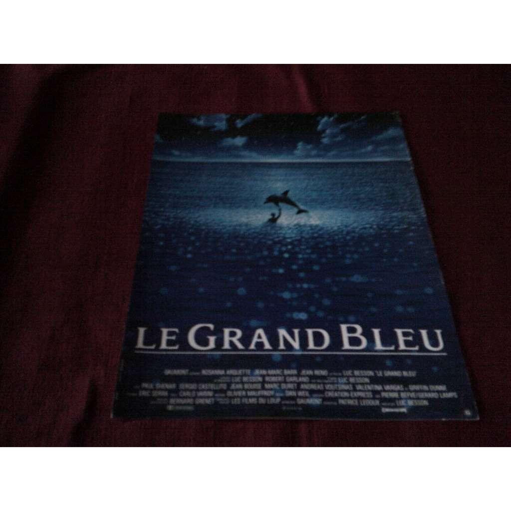 ERIC SERRA ° LE GRAND BLEU AFFICHE DU FILM LE GRAND BLEUE