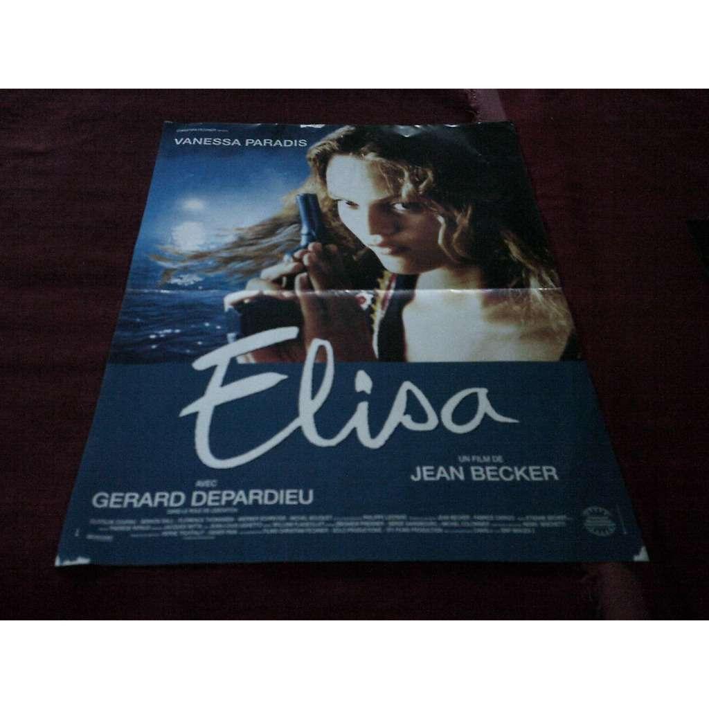 vanessa paradis AFFICHE DU FILM ELISA