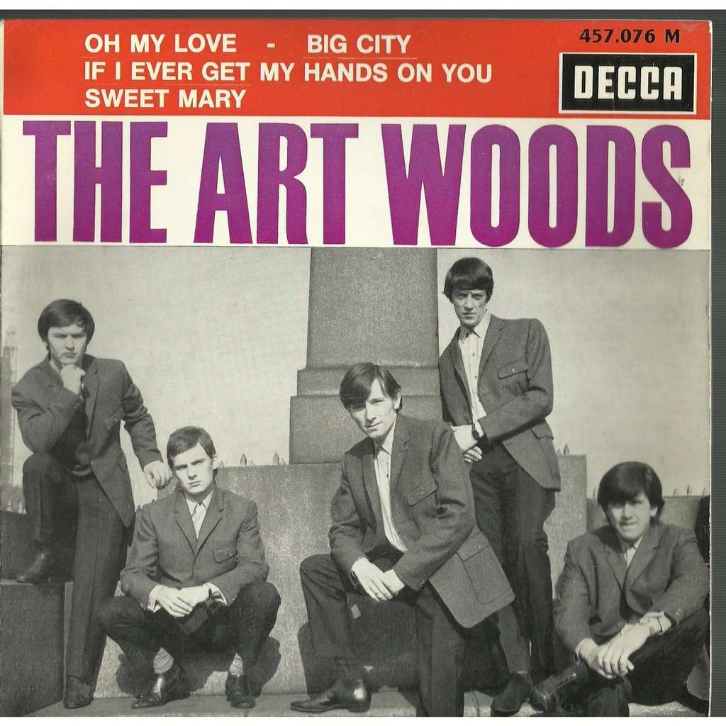 the art woods oh my love