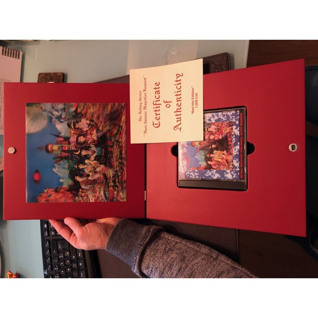 the rolling stones Their Satanic Majesties Request - Red Hot Edition