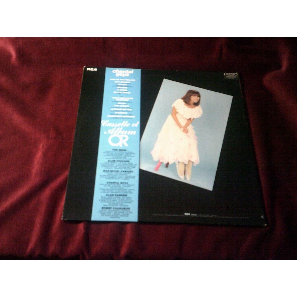Chantal GOYA album d'or ( 12 Titres ) - Adieu Les Jolis Foulards