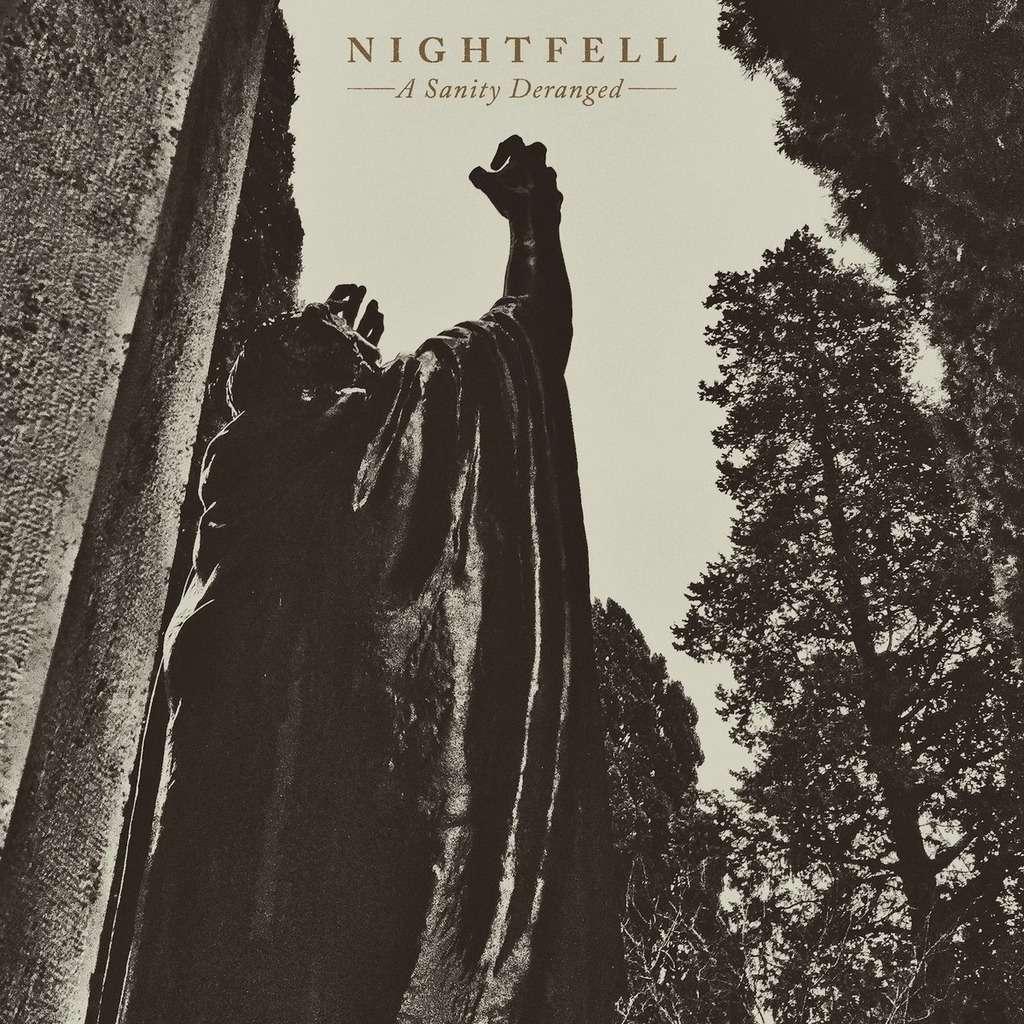 NIGHTFELL A Sanity Deranged. Swirl Vinyl