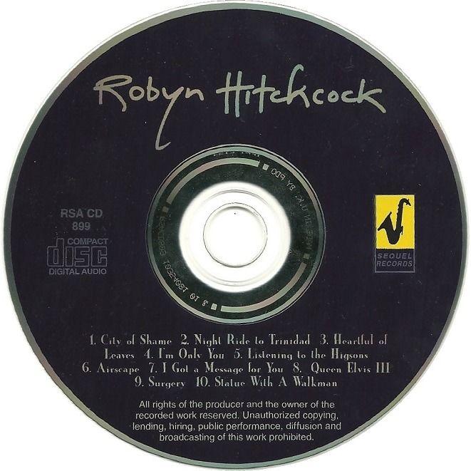 Robyn Hitchcock Robyn Hitchcock