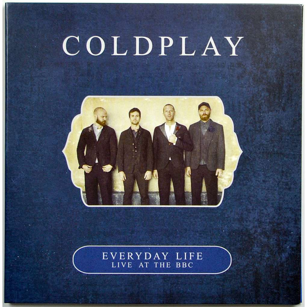 coldplay Live at BBC London England 27Nov2019 Everyday Life Promo CD Digisleeve