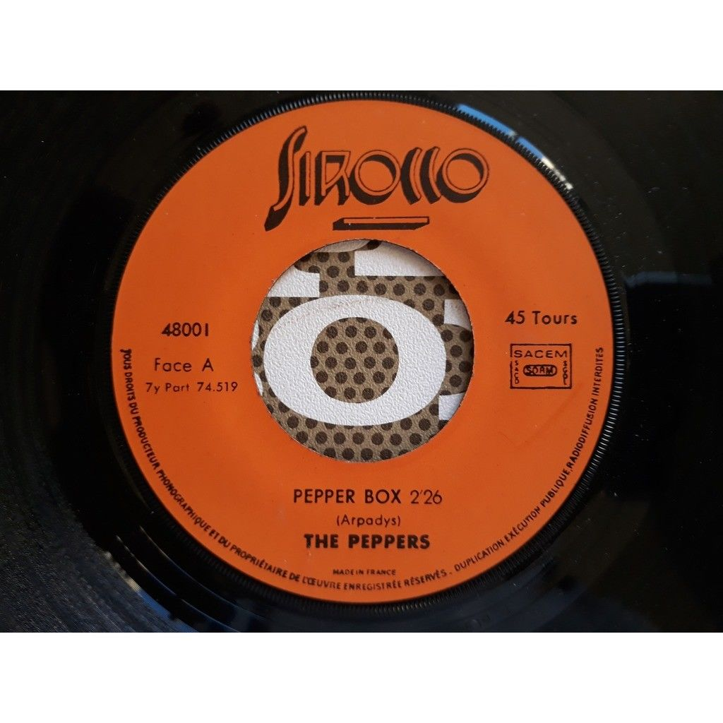The Peppers - Pepper Box (7, Single) The Peppers - Pepper Box (7, Single)