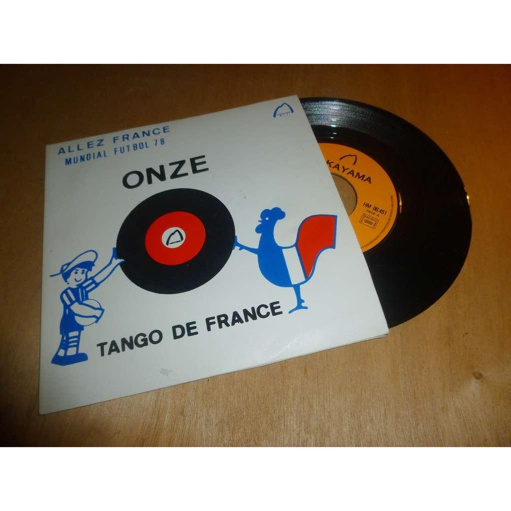 LABRE Jean onze - tango de france