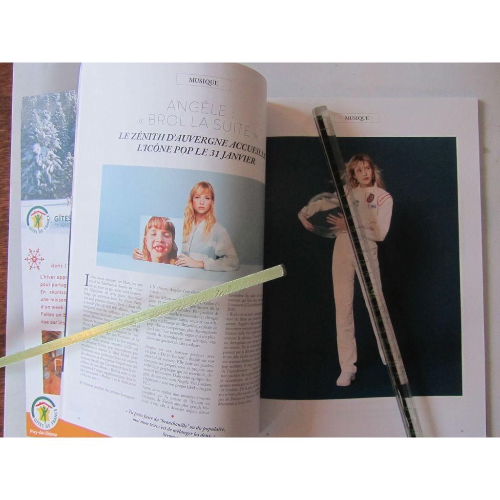 ANGELE Magazine Hors-commerce Double face AUVERGNE