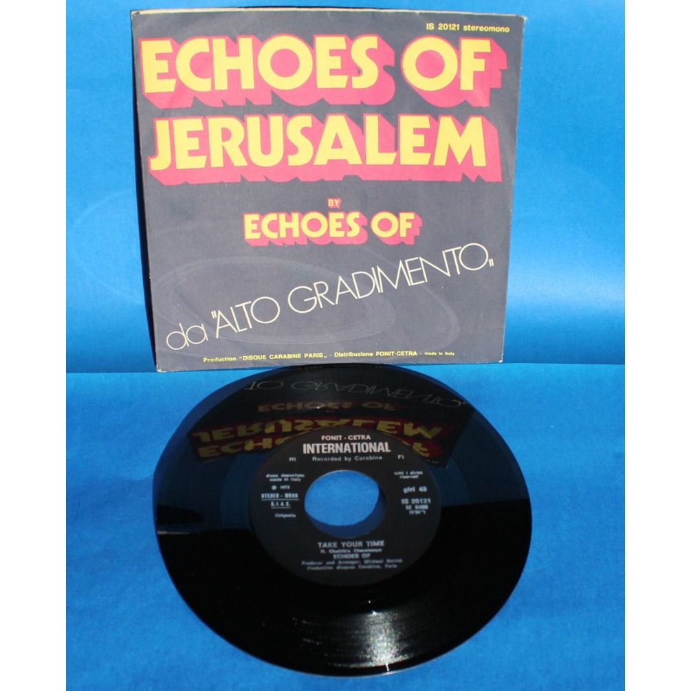 Echoes Of Echoes Of Jerusalem