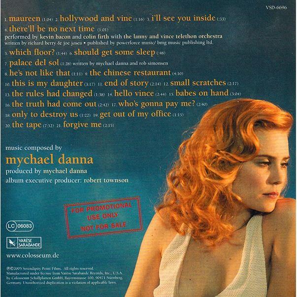 Mychael Danna Where The Truth Lies