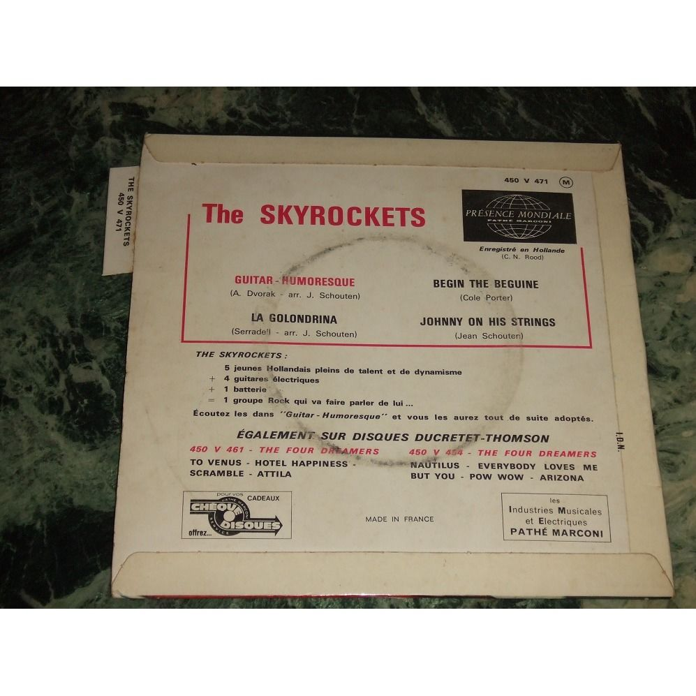 The skyrockets Guitar humoresque +3 (Languette)