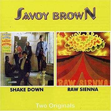 SAVOY BROWN SHAKE DOWN / RAW SIENNA