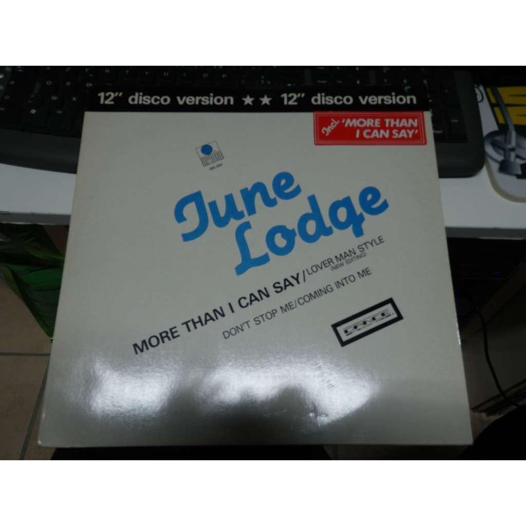 June lodge don't stop me