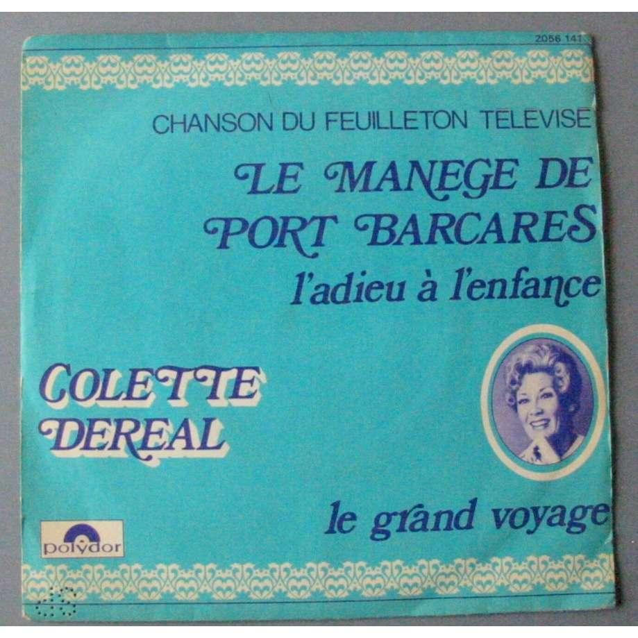 COLETTE DEREAL LE MANEGE DE PORT BARCARES