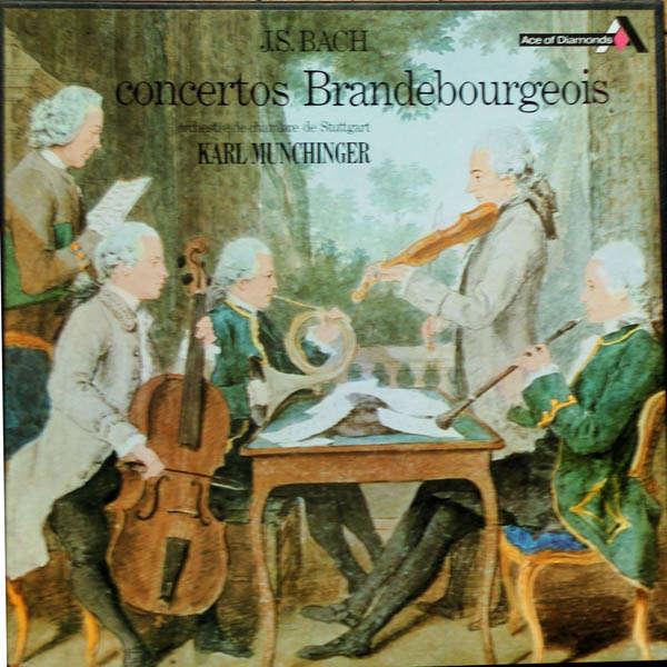 karl munchinger J.S Bach : Concertos brandebourgeois
