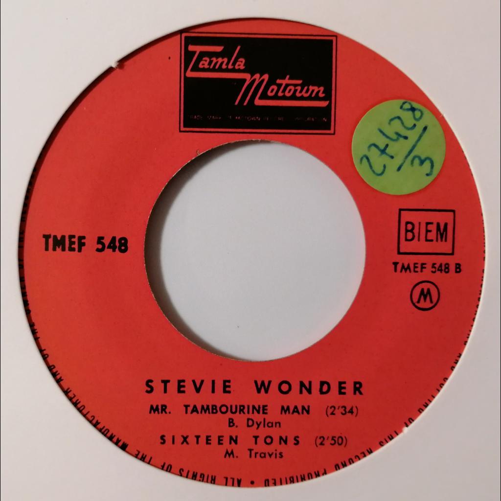 Stevie Wonder Travelin' Man +3 (Motown)