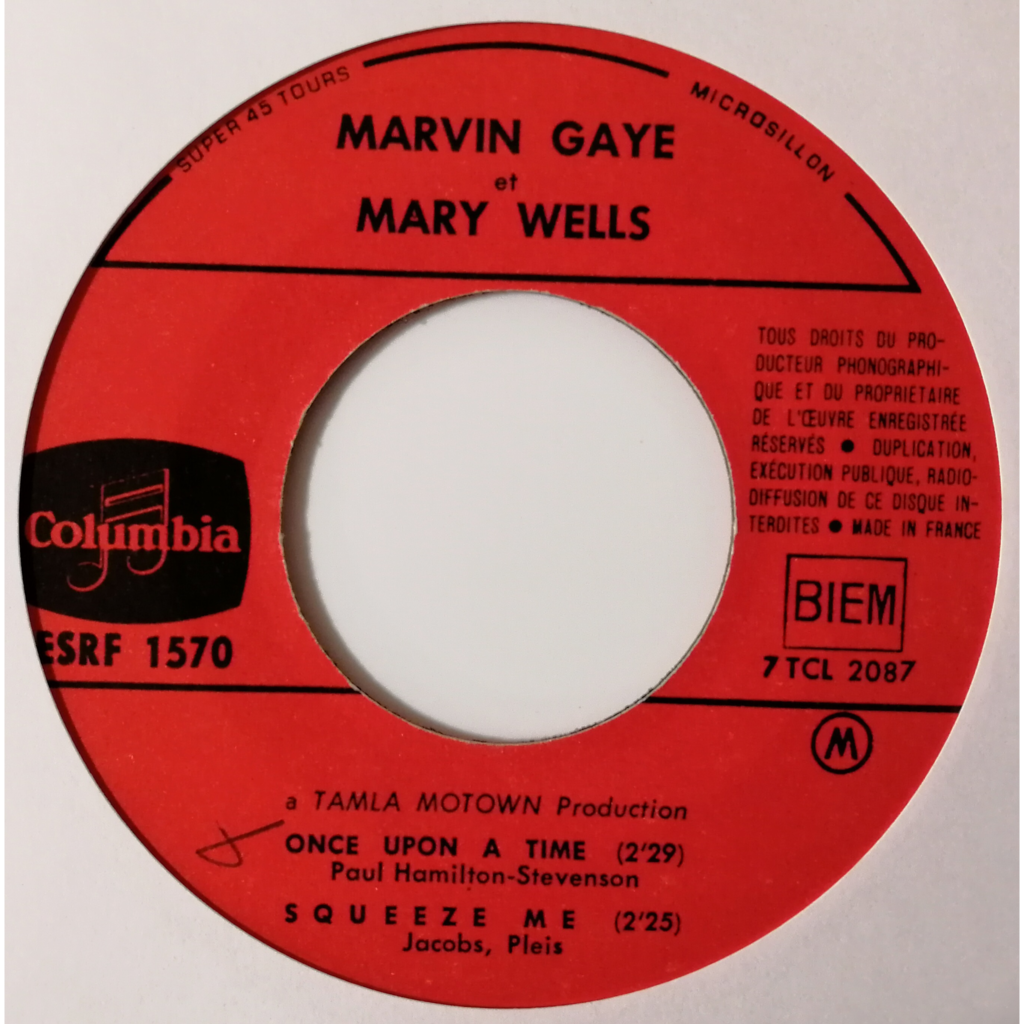Marvin Gaye & Mary Wells What's The Matter With You Baby (motown)