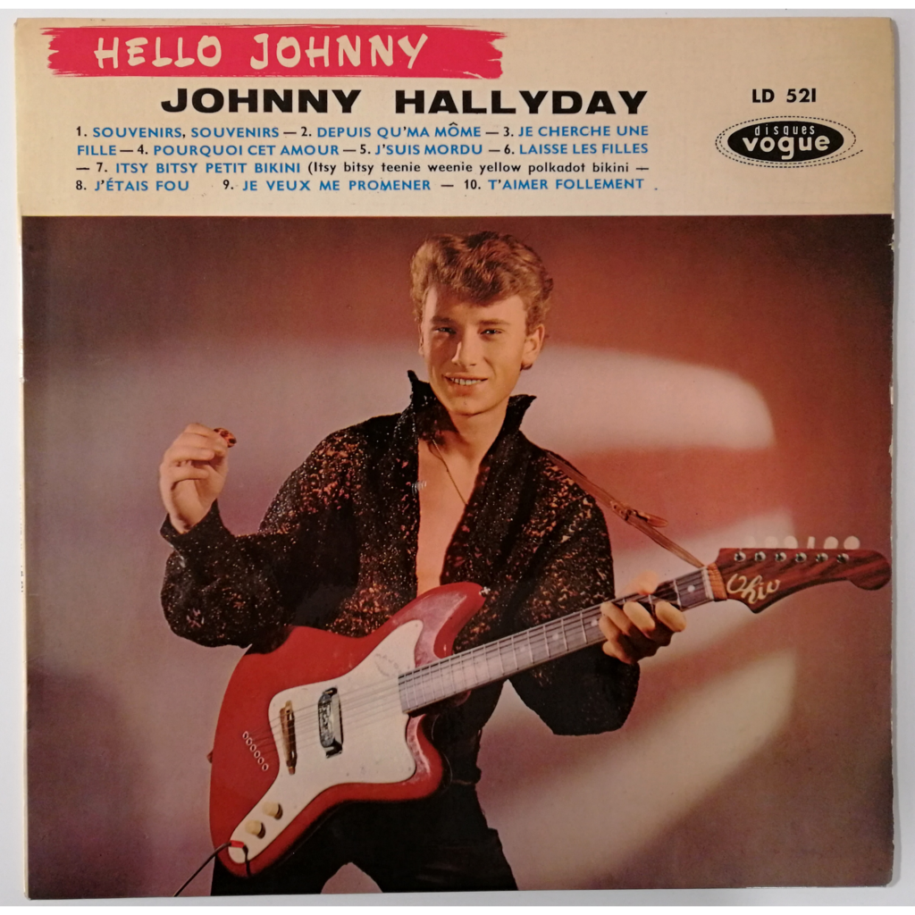 Johnny Hallyday Hello Johnny