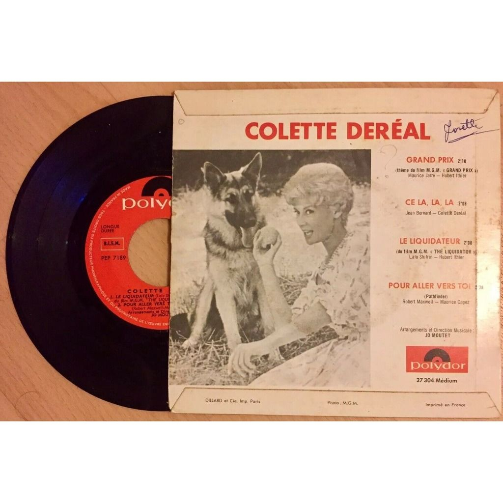 Colette dereal + jo moutet orch Grand prix & the liquidator themes