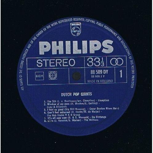 Various Dutch Pop Giants