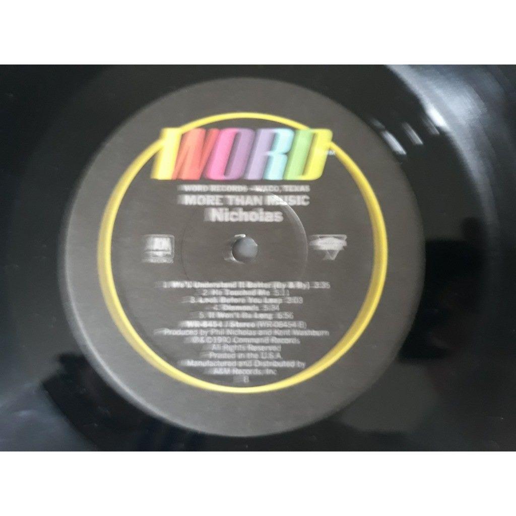 Nicholas Nicholas - More Than Music