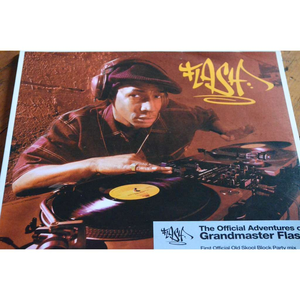 Grandmaster flash The official adventure of grandmaster flash