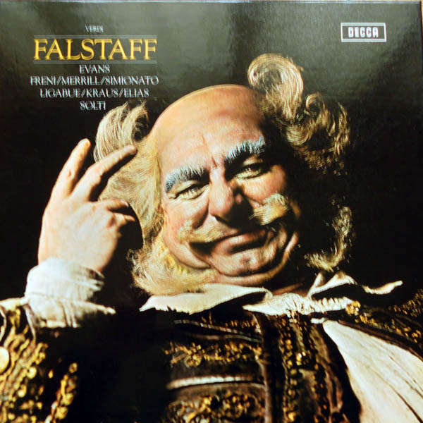 georg solti Verdi : Falstaff