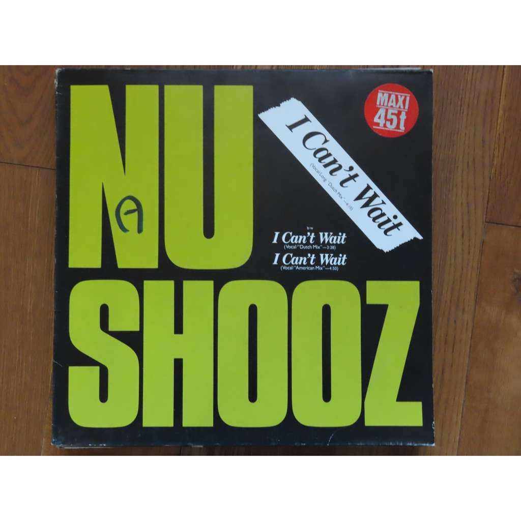 nu shooz I can't wait