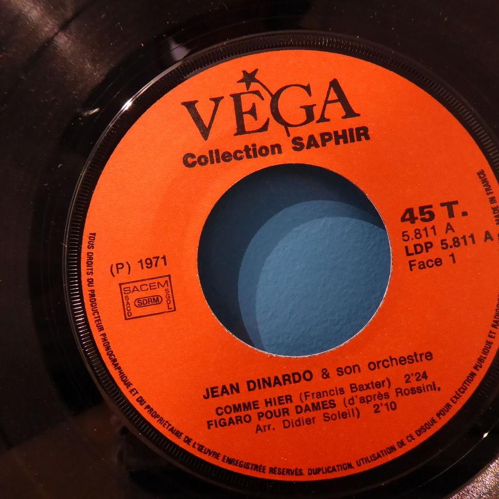 Jean Dinardo Comme hier + Figaro pour dames + Viejo marinero + Voz del tango