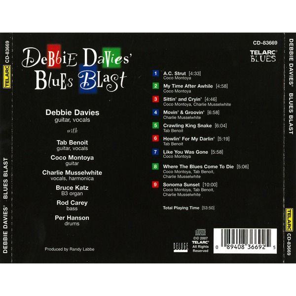 Debbie Davies (Feat. Coco Montoya, Tab Benoit) Debbie Davies' Blues Blast