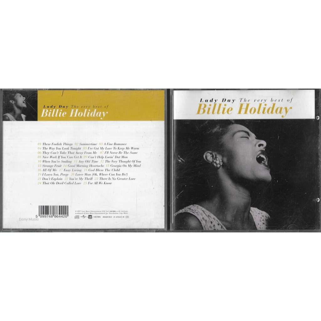 Billie Holiday Lady Day - The very best of