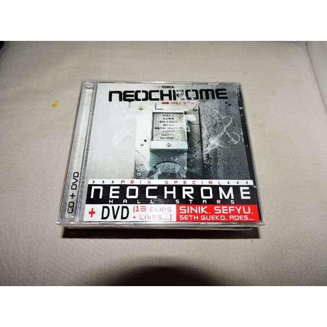 NEOCHROME HALL STARS (+ DVD) NEOCHROME HALL STARS (+ DVD) - COMPILATION RAP FRANCAIS
