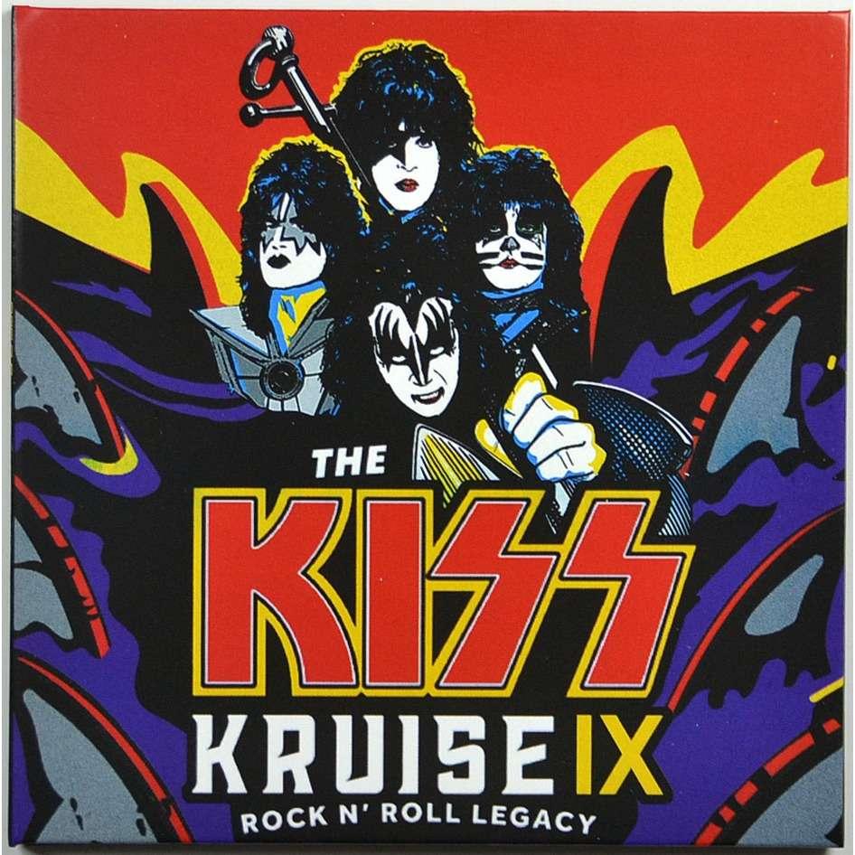 KISS Kruise IX Rock N' Roll Legacy Live Miami USA 1 November 2019 Acoustic 2CD Digisleeve
