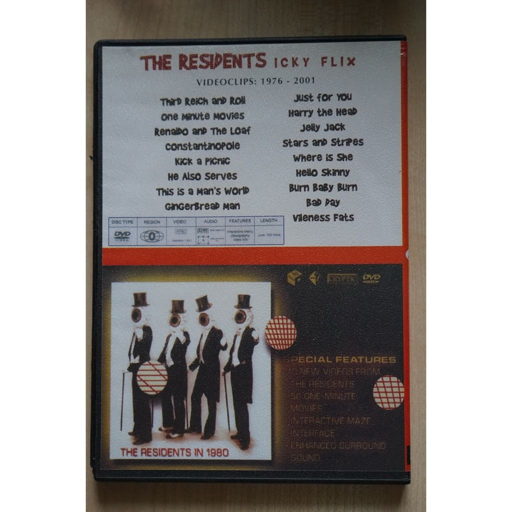The Residents Icky Flix / The Residents Commercial Album
