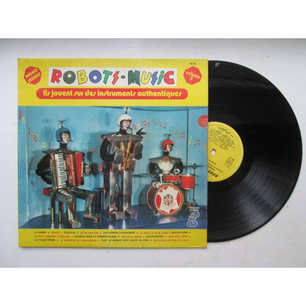 robots music volume 3
