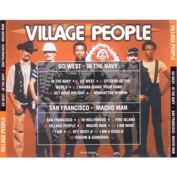 Village People Go West - In The Navy / San Francisco - Macho Man (CD)