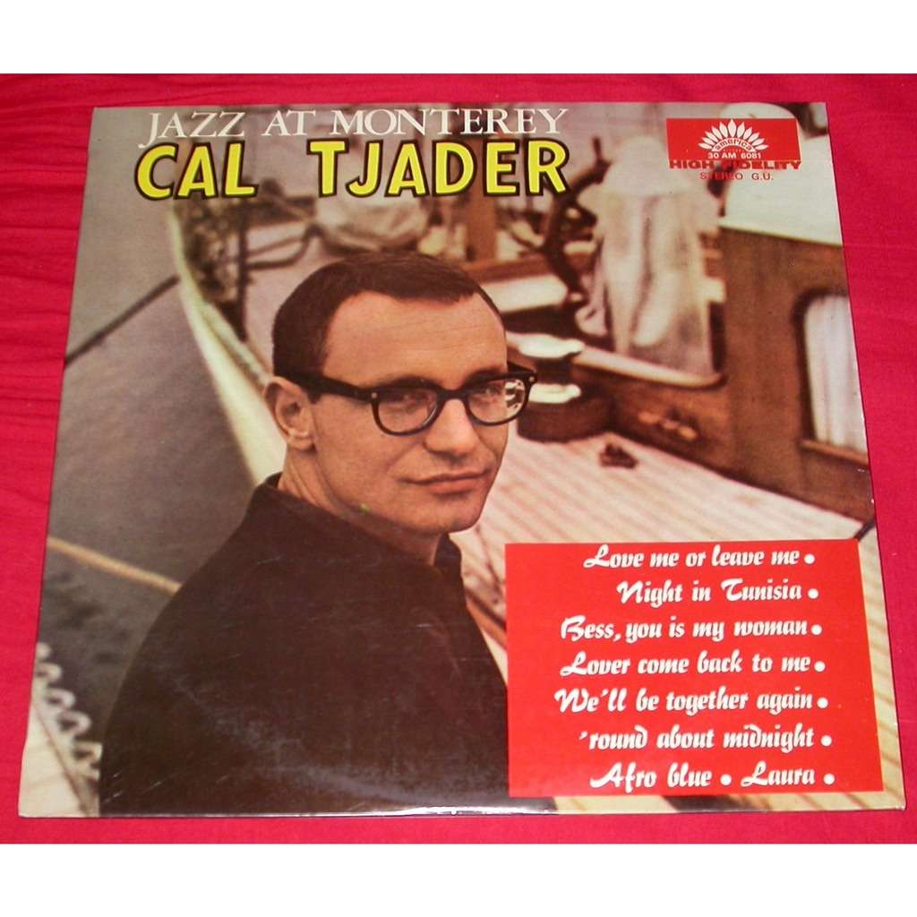 CAL TJADER The Best Of Live At The Monterey Jazz Festival 1958 - 1980