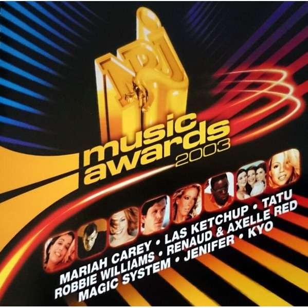 Renaud, Johnny Hallyday, Calogero, Chad Kroeger U2 NRJ Music Awards 2003