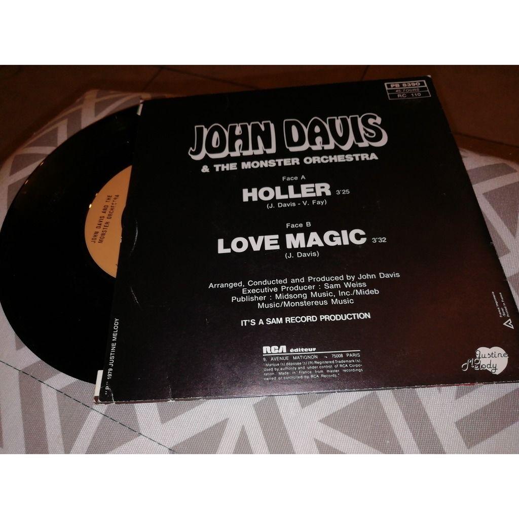 John DAVIS & THE MONSTER ORCHESTRA holler / love magic