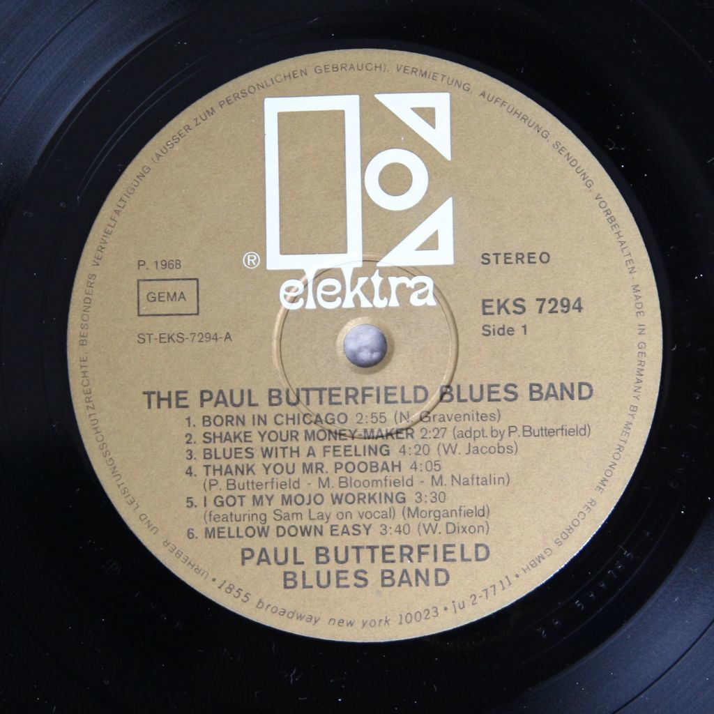 butterfield blues band The Paul Butterfield Blues Band