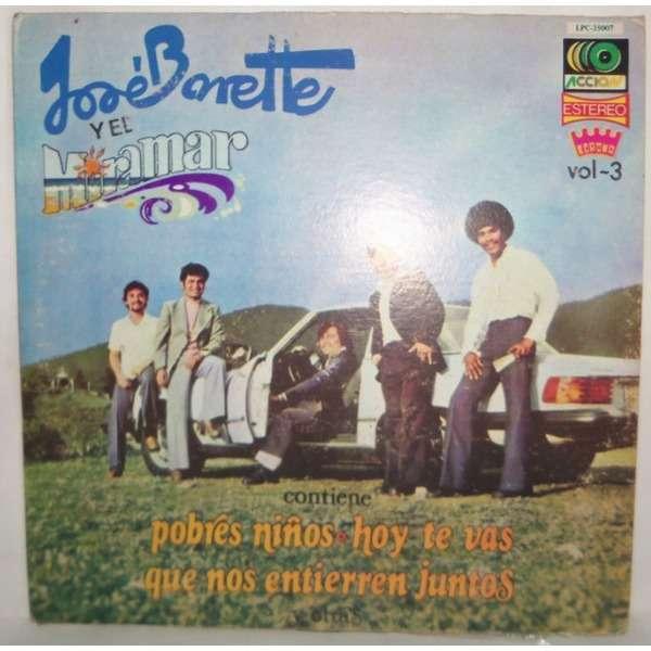 Jose Barette Y El Grupo Miramar - Vol 3 Jose Barette Y El Grupo Miramar - Vol 3
