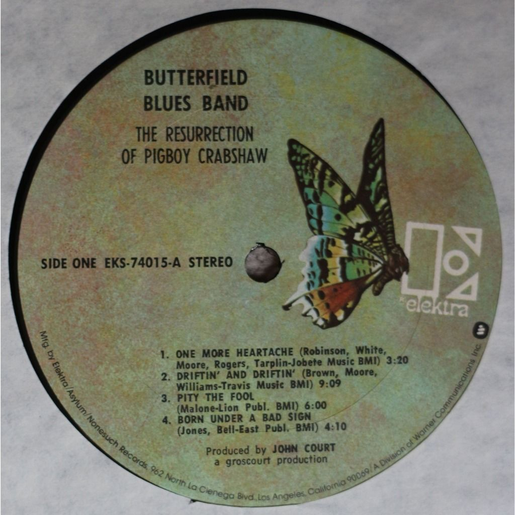butterfield blues band The Ressurection of Pigboy Crabshaw